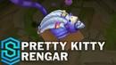 Pretty Kitty Rengar Skin Spotlight - Pre-Release - League of Legends