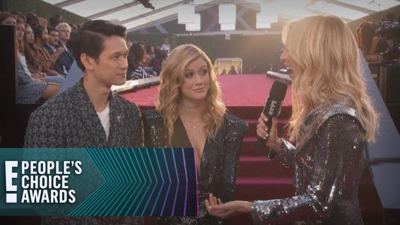 Harry Shum Jr. Shadowhunters Stars Give Fans a New Name   E! Peoples Choice Awards
