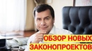 Игорь Чистюхин о законопроектах отечественные препараты самовольные постройки побег с места ДТП