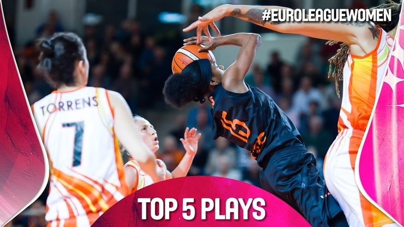 Top 5 Plays - Gameday 9 - EuroLeague Women 2018-19
