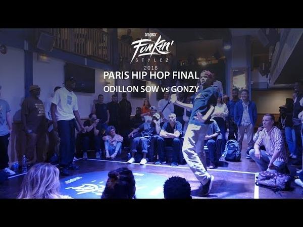 Funkin' Stylez Paris preselections - Hip hop final : Odilon Sow vs Gonzy