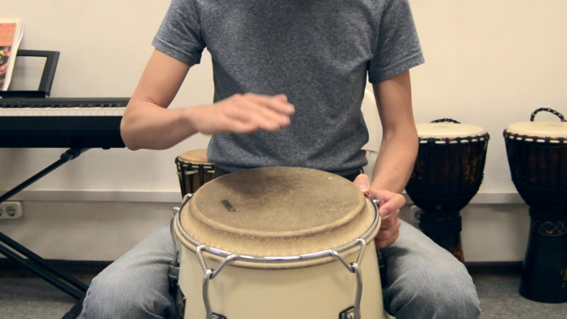 Как играть слэп не отбивая руки