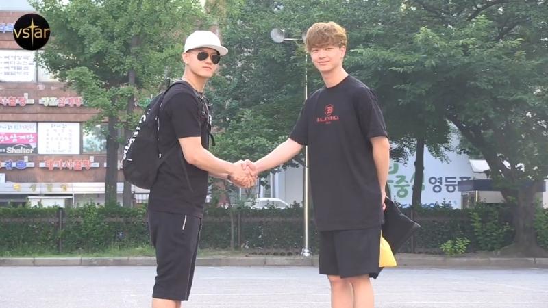 [PRESS] 22.06.2018: BTOB по пути на Music Bank @ Vstar