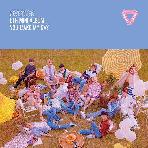 Seventeen альбом SEVENTEEN 5TH MINI ALBUM 'YOU MAKE MY DAY'