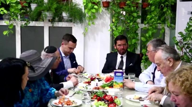 Генеральный секретарь Ассамблеи народов Евразии Председатель Правления Евразийского банка развития Андрей Бельянинов в Шардж