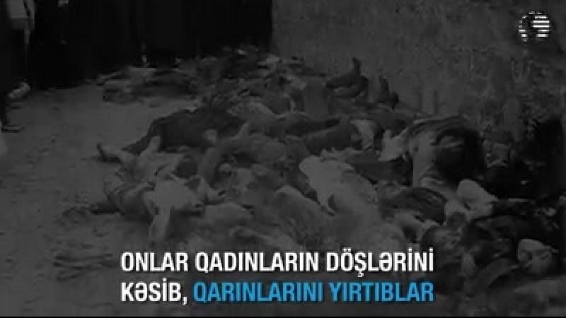 18 mart Soyqrım Şamaxda ermeni teroru