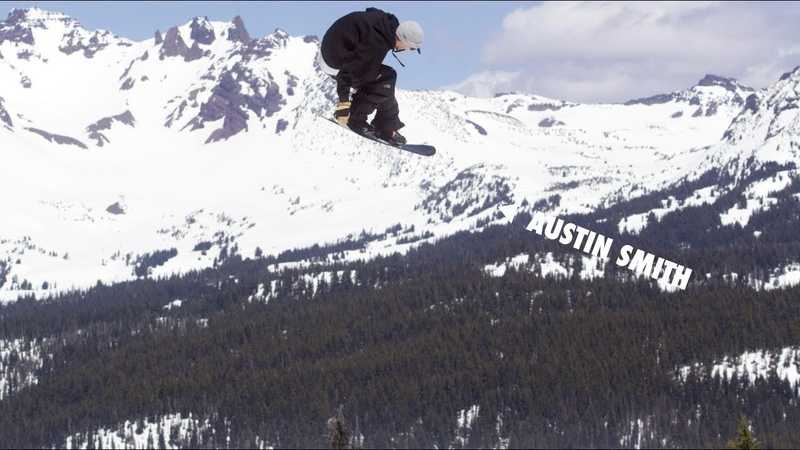 How to do a Double Swallow Tail Grab with Austin Smith   TransWorld SNOWboarding Grab Directory