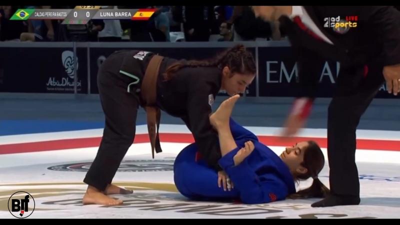 Mayssa Bastos vs Luna Barea Abu Dhabi Grand Slam Los Angeles