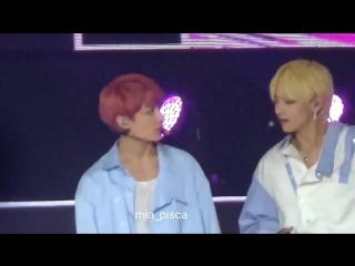 180707 SBS Super Concert in Taipei   TaeKook eye contact