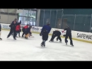 Just a little fun from the San Jose Sharks youth camp.