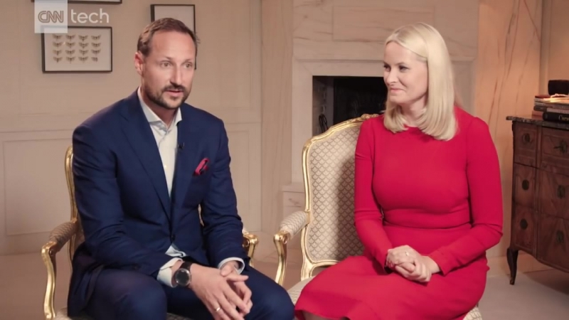 Crown Prince Haakon and Crown Princess Mette Marit want to build Oslos tech scene