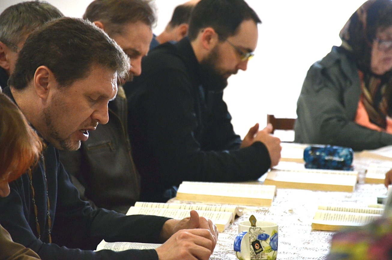 Состоялось занятие катехизаторских курсов для взрослых в Темрюке