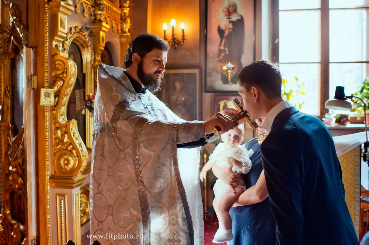 крещение фотосессия