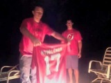 Ilya Kovalchuk Jersey shirt Burning after retires from NHL New Jersey Devils