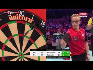 Australia vs Canada (PDC World Cup of Darts 2019 / Round 2)