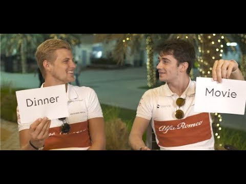 Marcus and Charles - Get to know your team mate