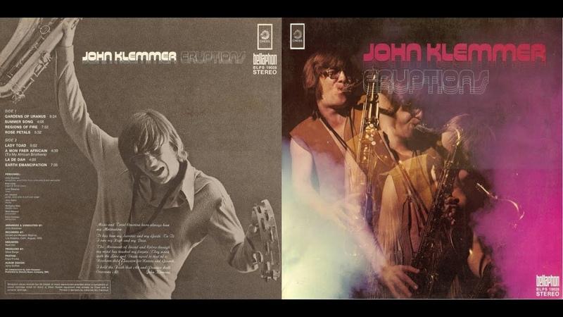 JOHN KLEMMER SAX ERUPTIONS CD JAZZ/ROCK/FUSION [IMPULSE! RECORDS]