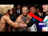 In this video, you can CLEARLY see the Irish pig hitting Khabib's men in the ring after the fight ended. McGregor Vs Khabib What really happened at UFC 229, All Angles (Slow Mo)