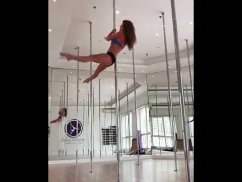 Pole Dance. Связка для динамичного пилона489