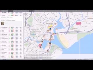 Система GPS/ГЛОНАСС мониторинга транспорта Wialon