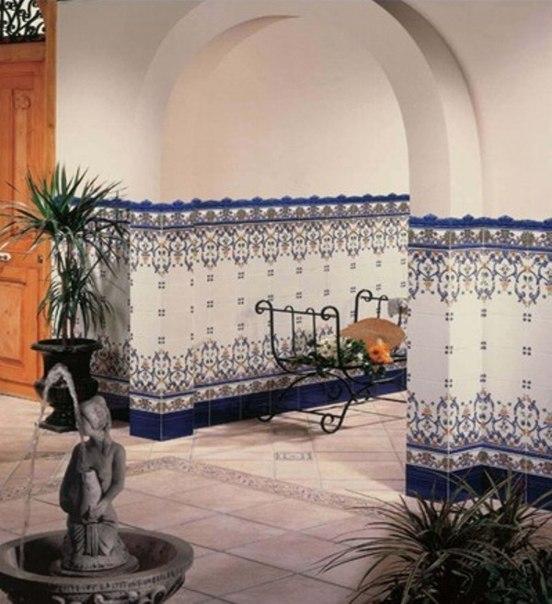 Wall vk - Azulejos patio andaluz ...