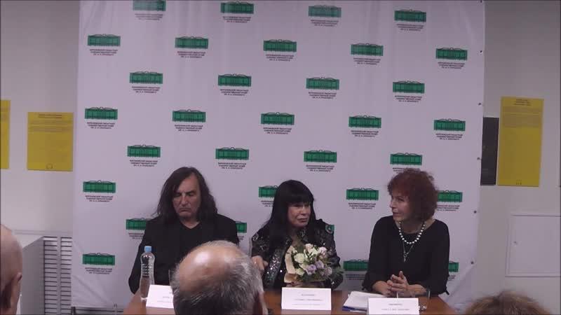 Пресс-конференция и открытие выставок Татьяны Назаренко и Игоря Новикова.29.11.2018 Крамской.