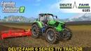 Farming Simulator 17 DEUTZ-FAHR 6 SERIES TTV TRACTOR