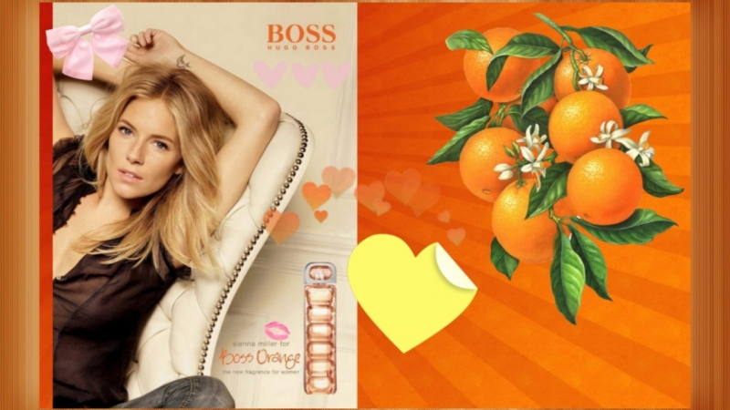 SIENNA MILLER for BOSS Orange • HUGO BOSS