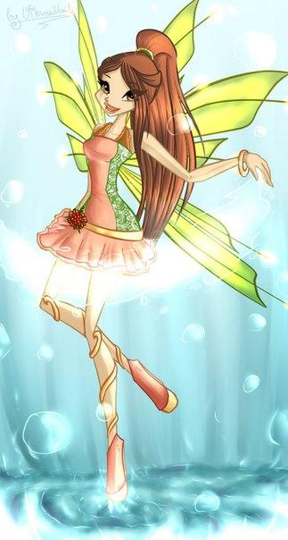 Создай принцессу игра для девочек винкс!