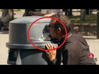NEW Best Just For Laughs Gags Compilation: Man Licks Icing on Trash /Part 28