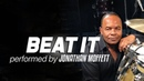 Michael Jackson's Drummer Jonathan Moffett Performs Beat It On Drumeo!