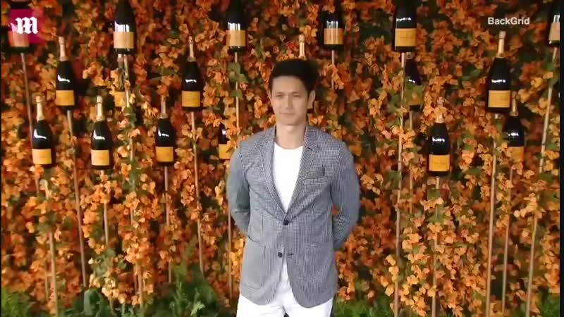 Harry Shum Jr attending the 9th Annual Veuve Clicquot Polo Classic Los Angeles at Will Rogers State Historic Park on October 6,