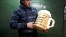 Копилка в форме пивной кружки своими руками. Piggy Bank in the shape of a beer mug DIY