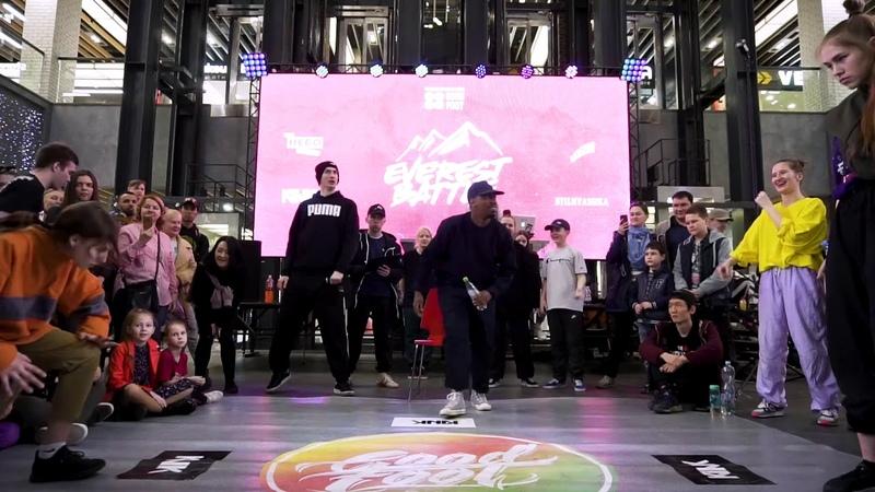 Everest battle 2.0.1.9   Hip-Hop beginners  Semi-Final   Сердитова Александра (win) vs Зудкова Настя