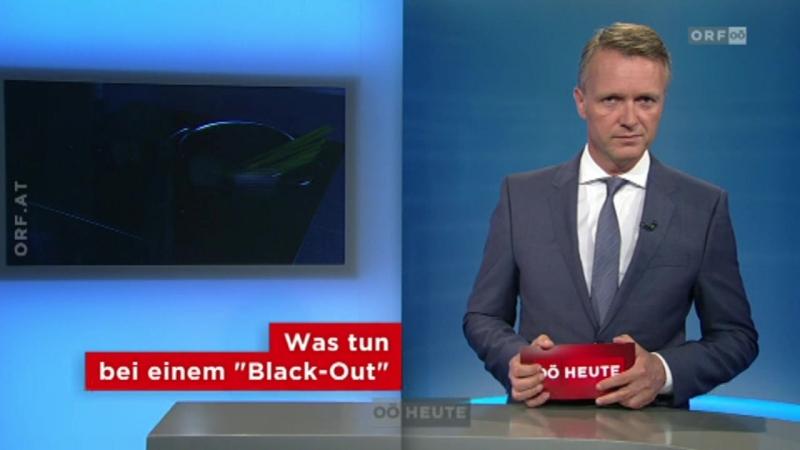 """Oberösterreich heute - Zu wenig Bewusstsein für """"Blackouts"""""""