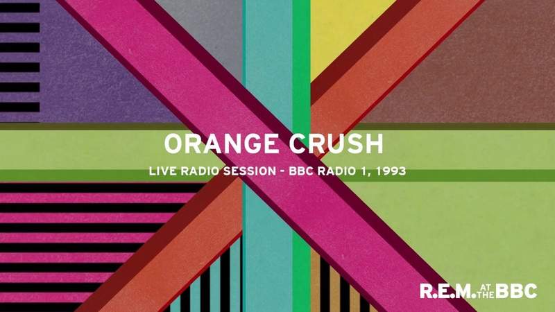 R E M Orange Crush Live from Mark and Lard on BBC Radio 1 2003