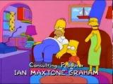 Эпизод из Симпсонов на тему последней серии  Игры престолов