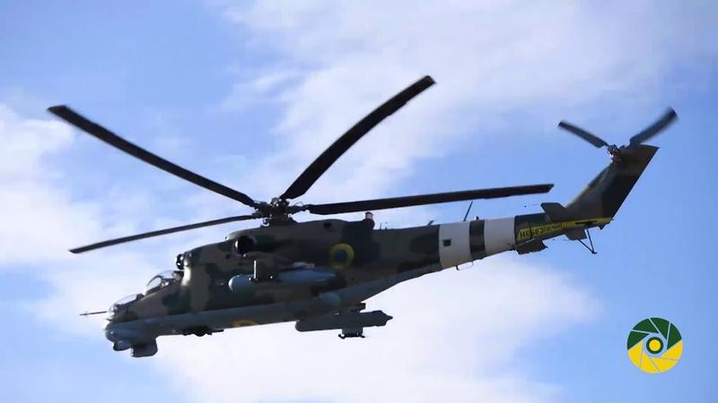 ООС Перевірено готовність штурмової та армійської авіації