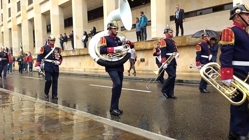 Parade in Bogota / Парад в Боготе