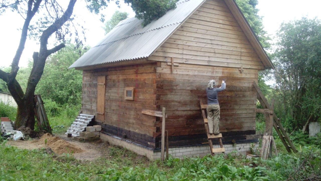Про строительство бани в деревне