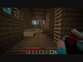 НУБ ПОСТРОИЛ АЛМАЗНЫЙ ЗАМОК В Майнкрафте! Minecraft Мультики Майнкрафт троллинг Нуб и Про