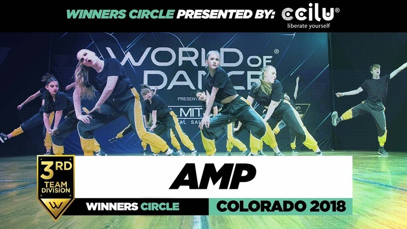 AMP | 3rd Place Team Division | Winners Circle | World of Dance Colorado 2018 | WODCO188 | Danceproject.info