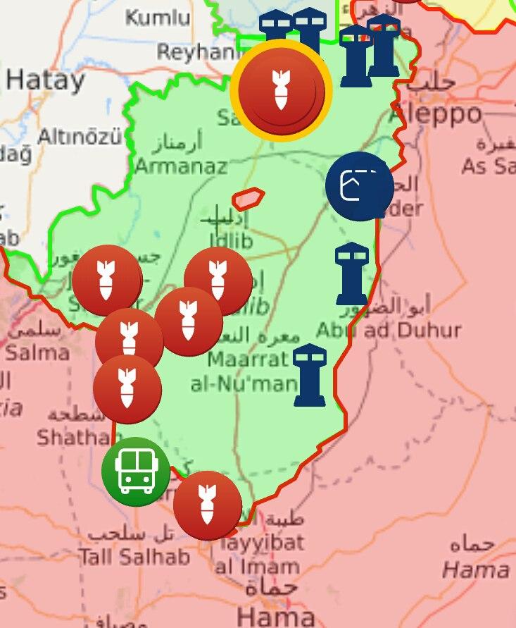 САА обнаружила в Восточной Гуте склады с оружием и боеприпасами израильского производства