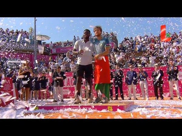 Estoril Open FINAL: Sousa vs Tiafoe/ Слезы радости Жоао Соузы