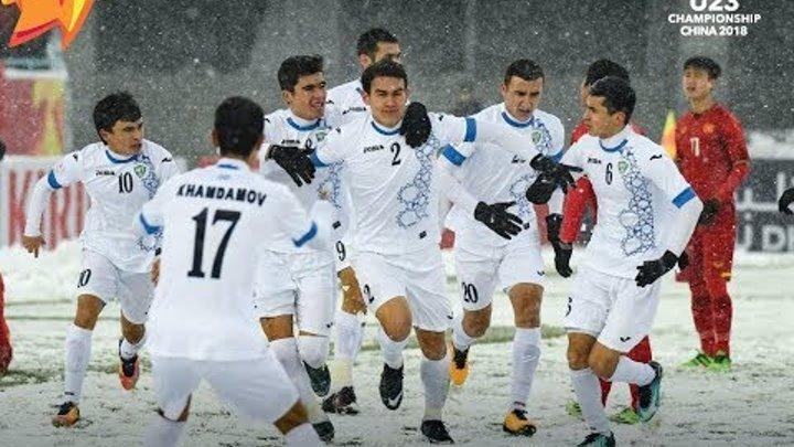 U23 Final Uzbekiston-Vetnam (X.Hamidov.E.Mustafoyev)