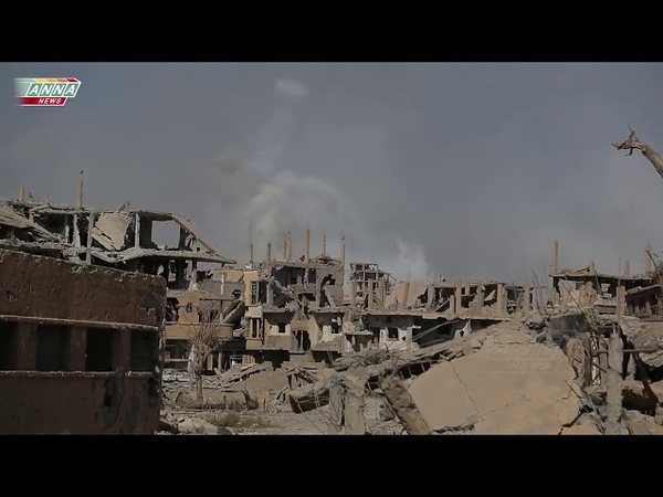 Syria Deir ez Zor The assault episode Дейр эз Зор Эпизод из штурма