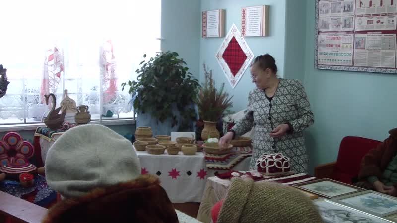 Плетение из корней( мастерица д. Золотари Людмила Николаевна)