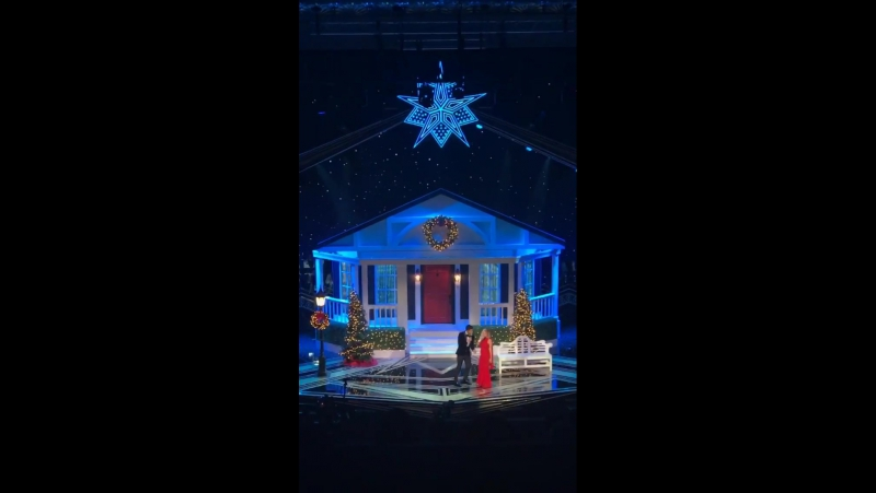 Fergie Jussie Smollett (live @ Taraji's White Hot Holidays)