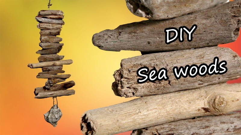 SUMMER IDEAS legnetti di mare driftwood mobile