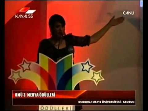 GUPSE ÖZAY - 3.OMÜ Medya Ödül Töreni